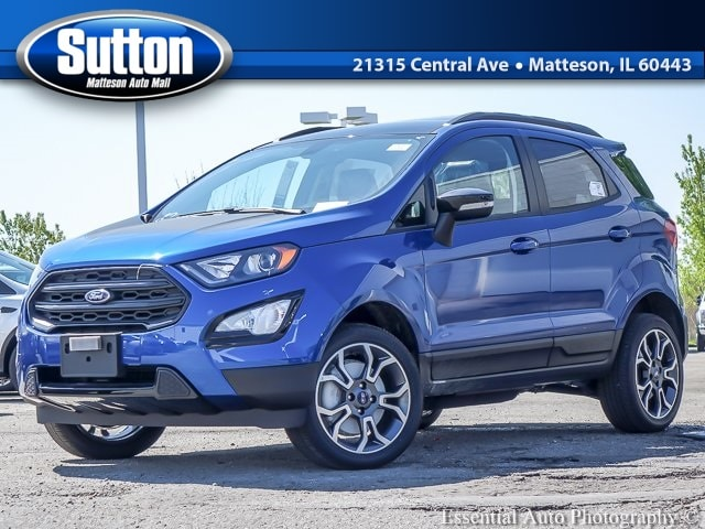 New 2019 Ford EcoSport SES SUV for sale/lease in Matteson, IL