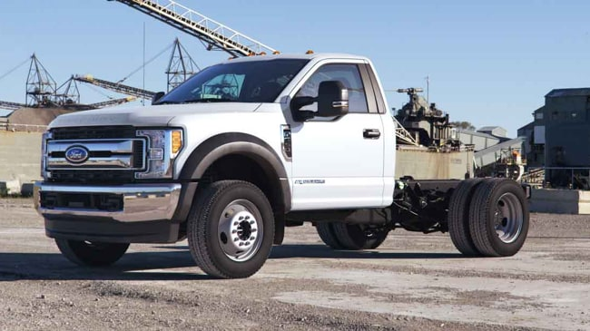 The tough 2019 Ford F-Series Chassis Cab