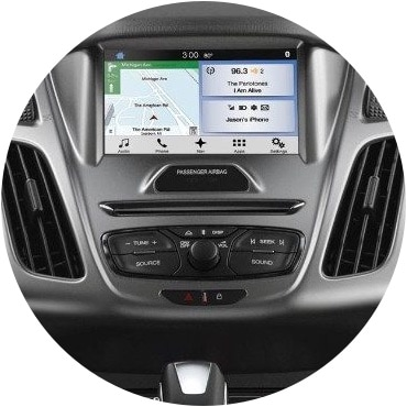 Transit connect interior console