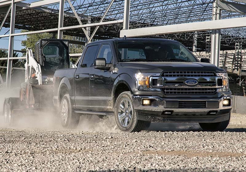 2019 F-150 towing construction equipment
