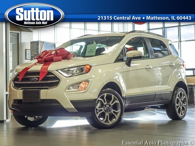 New 2018 Ford EcoSport SE SUV for sale/lease in Matteson, IL
