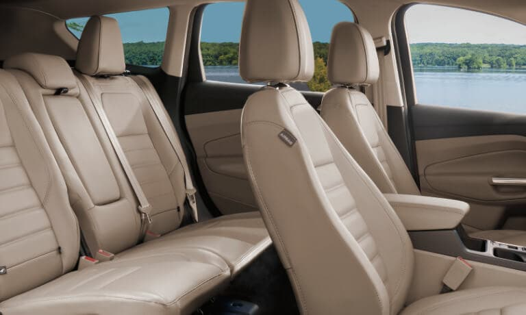 2019 Ford Escape interior safety and comfort