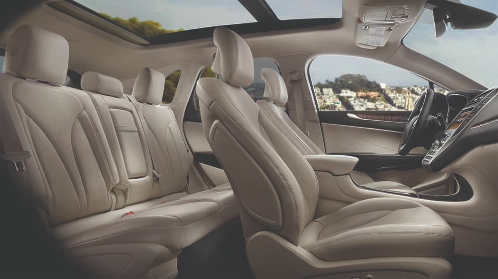 2019 Lincoln MKC Interior Design