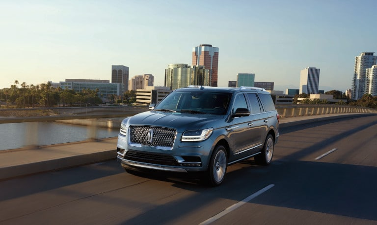 2019 Lincoln Navigator Black Label exterior design image