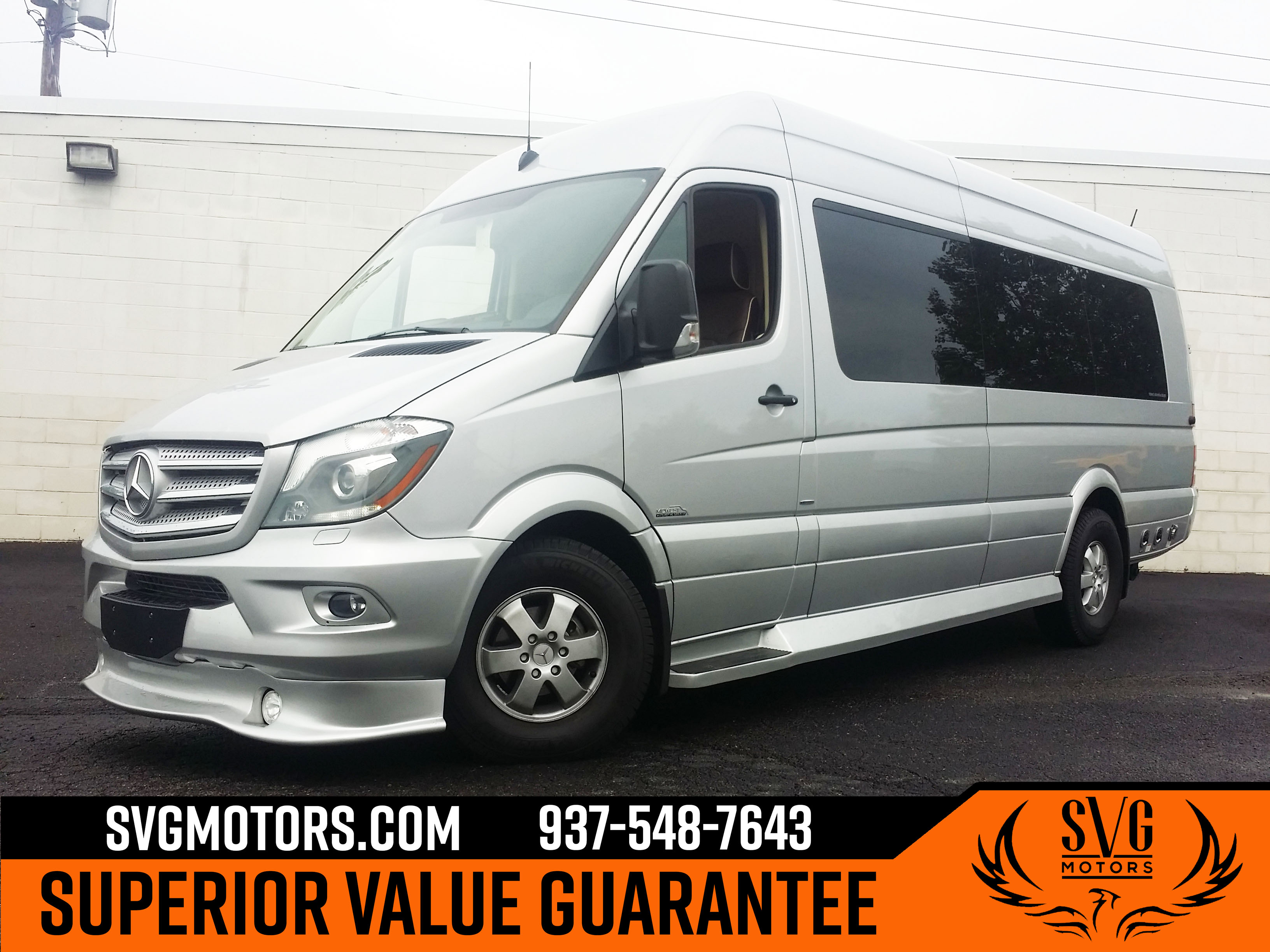 2018 Mercedes-Benz Sprinter High Roof Extended Cargo Van