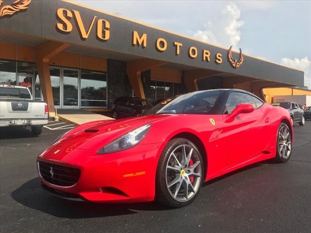 2012 Ferrari California Base Convertible