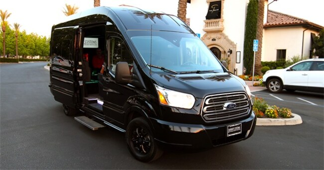 2016 Ford Transit-250 Custom Transit Cargo Van
