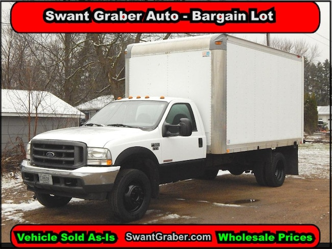 2003 Ford F-550 Chassis Truck Regular Cab