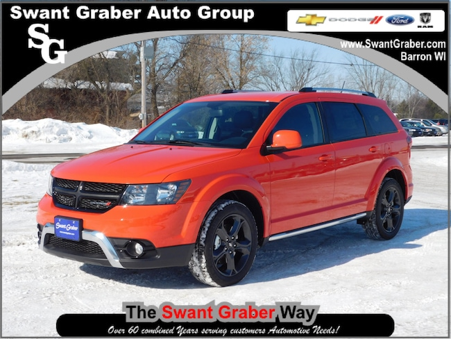 New 2018 Dodge Journey Crossroad Awd For Sale In Barron Wi