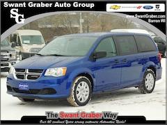 New Dodge and Ram Vehicles 2019 Dodge Grand Caravan SE Passenger Van for same in Barron, WI