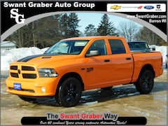 New Dodge and Ram Vehicles 2019 Ram 1500 CLASSIC EXPRESS CREW CAB 4X4 5'7 BOX Crew Cab for same in Barron, WI