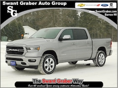 New Dodge and Ram Vehicles 2019 Ram 1500 BIG HORN / LONE STAR CREW CAB 4X4 5'7 BOX Crew Cab for same in Barron, WI