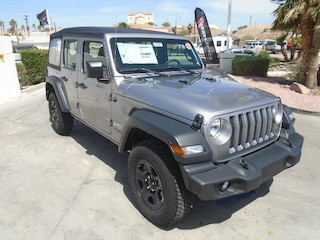 New 2018 Jeep Wrangler UNLIMITED SPORT 4X4 Sport Utility Bullhead City
