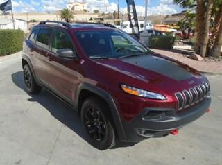Used 2018 Jeep Cherokee Trailhawk SUV Bullhead City