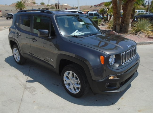 New 2018 Jeep Renegade LATITUDE 4X4 Sport Utility Lake Havasu City