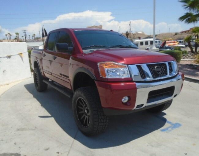 Used 2015 Nissan Titan SV Truck Crew Cab Bullhead City