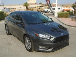 Used 2018 Ford Focus SE Sedan Bullhead City