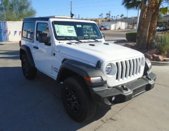 New 2018 Jeep Wrangler SPORT 4X4 Sport Utility Lake Havasu City