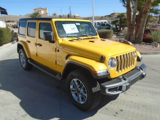 New 2019 Jeep Wrangler UNLIMITED SAHARA 4X4 Sport Utility Bullhead City