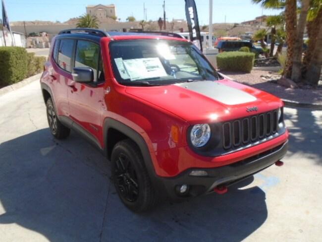 New 2018 Jeep Renegade TRAILHAWK 4X4 Sport Utility Lake Havasu City