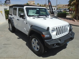 New 2018 Jeep Wrangler UNLIMITED SPORT S 4X4 Sport Utility Bullhead City