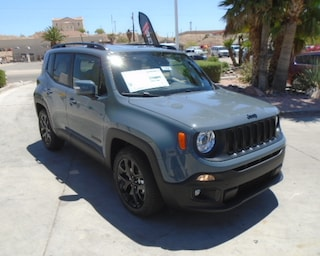 New 2018 Jeep Renegade ALTITUDE 4X2 Sport Utility Bullhead City