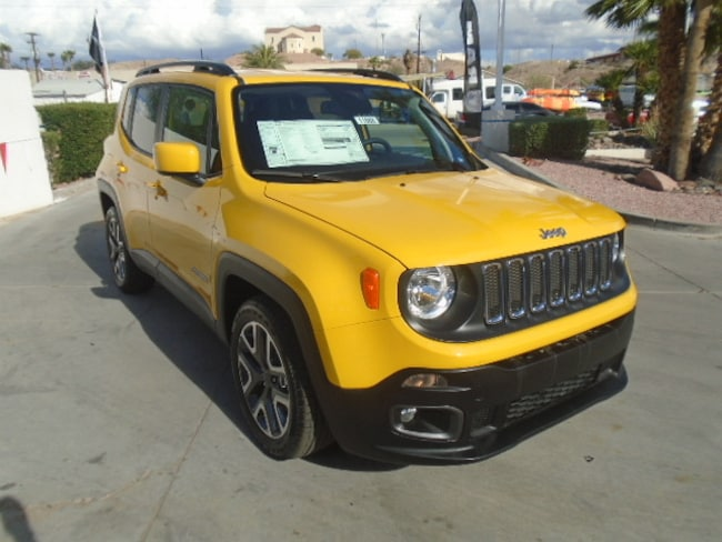 New 2018 Jeep Renegade LATITUDE 4X2 Sport Utility Lake Havasu City