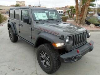 New 2018 Jeep Wrangler UNLIMITED RUBICON 4X4 Sport Utility Bullhead City