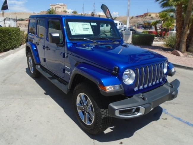 New 2018 Jeep Wrangler UNLIMITED SAHARA 4X4 Sport Utility Lake Havasu City