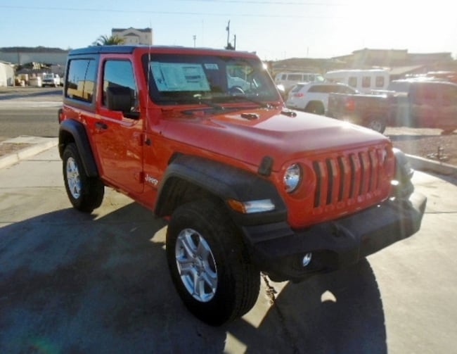 New 2018 Jeep Wrangler SPORT S 4X4 Sport Utility Lake Havasu City