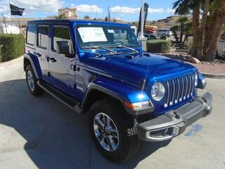 New 2018 Jeep Wrangler UNLIMITED SAHARA 4X4 Sport Utility Bullhead City