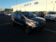 New 2018 Ford EcoSport SES Crossover MAJ6P1CL1JC228984 in Holly, MI