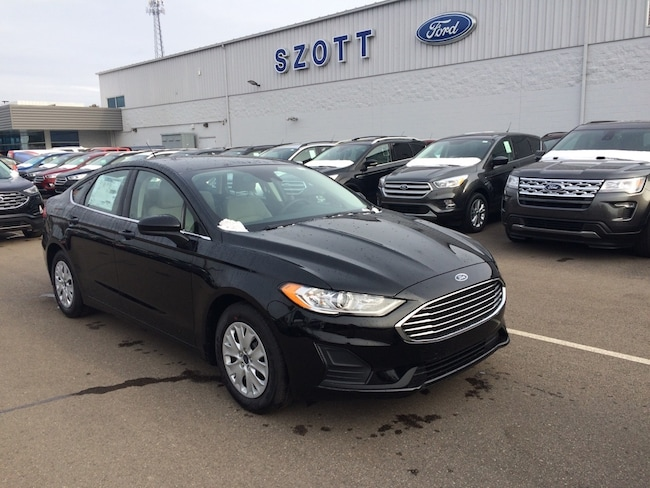 New 2019 Ford Fusion S Sedan for sale/lease Holly, MI
