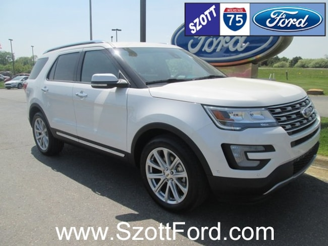 used 2016 ford explorer for sale in holly mi stock ggc32440. Black Bedroom Furniture Sets. Home Design Ideas