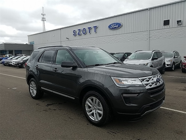 New 2019 Ford Explorer XLT SUV for sale/lease Holly, MI