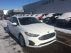 New 2019 Ford Fusion SE Sedan 3FA6P0HD1KR131640 in Holly, MI