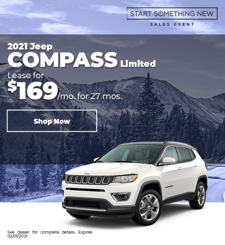 2021 Jeep Compass Limited - Jan