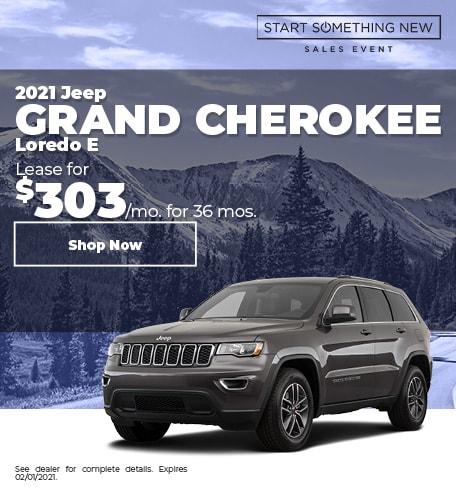2021 Jeep Grand Cherokee Loredo E - Jan
