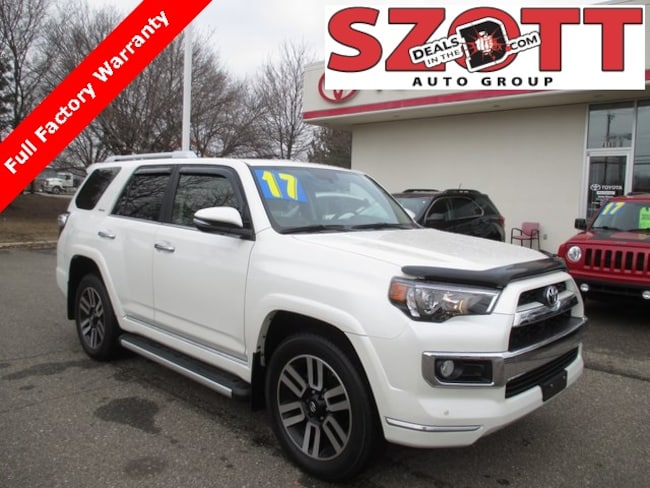 Used 2017 Toyota 4Runner Limited SUV in Waterford