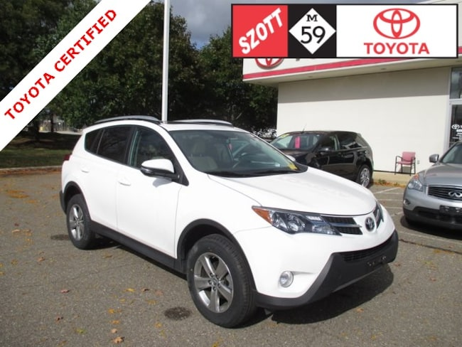 Used 2015 Toyota RAV4 XLE SUV in Waterford