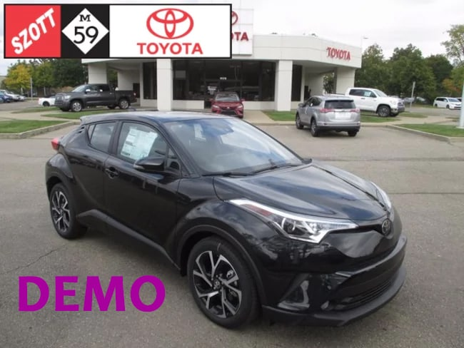 New 2018 Toyota C-HR XLE Premium SUV for sale near Detroit, MI