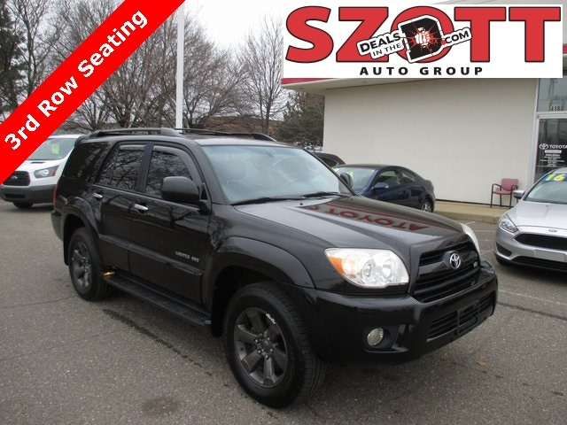 Used 2006 Toyota 4Runner Limited SUV for sale near Detroit