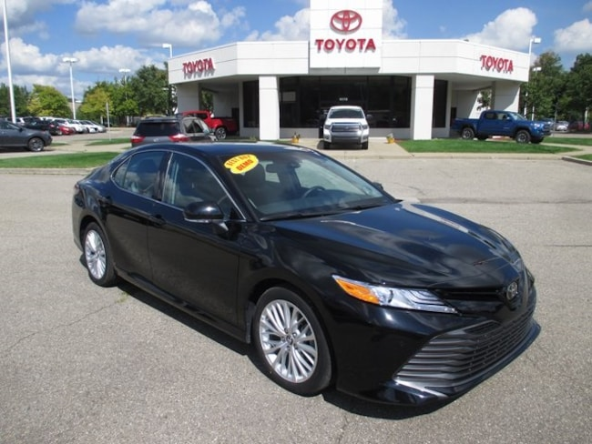 New 2018 Toyota Camry XLE Sedan in Waterford