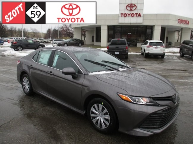 New 2019 Toyota Camry L Sedan in Waterford