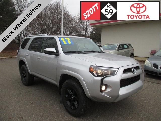 Used 2017 Toyota 4Runner SR5 SUV for sale near Detroit
