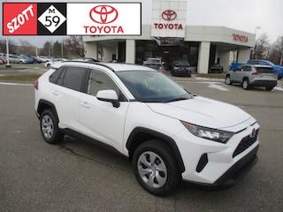 New 2019 Toyota RAV4 SUV for sale near Detroit