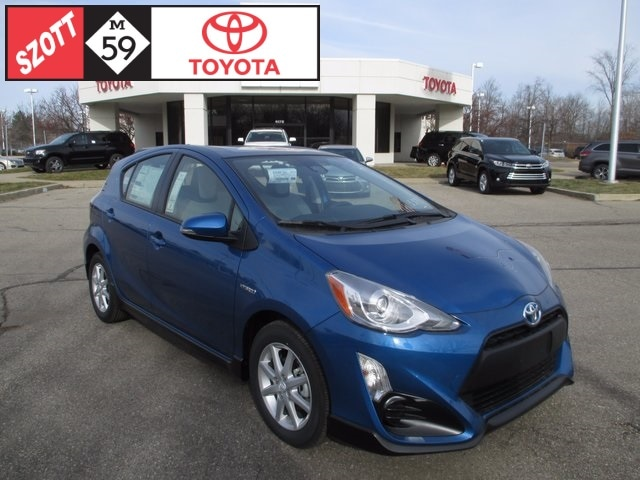 New 2017 Toyota Prius c One Hatchback for sale near Detroit, MI
