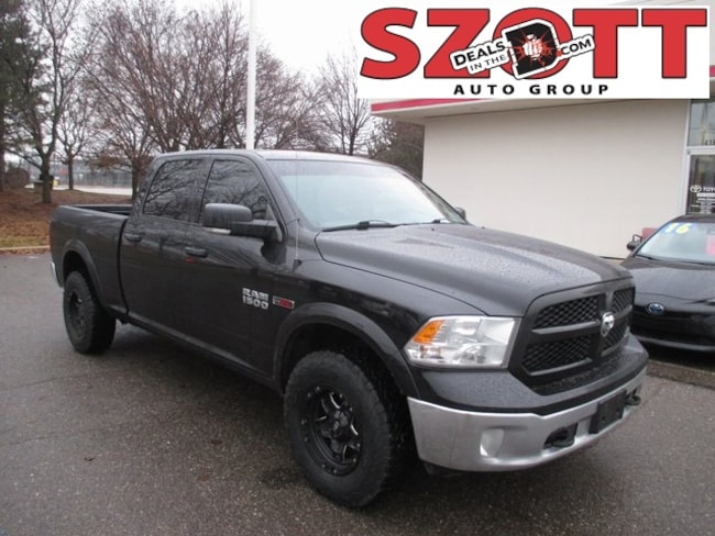 Used 2015 Ram 1500 Outdoorsman Truck Crew Cab in Waterford