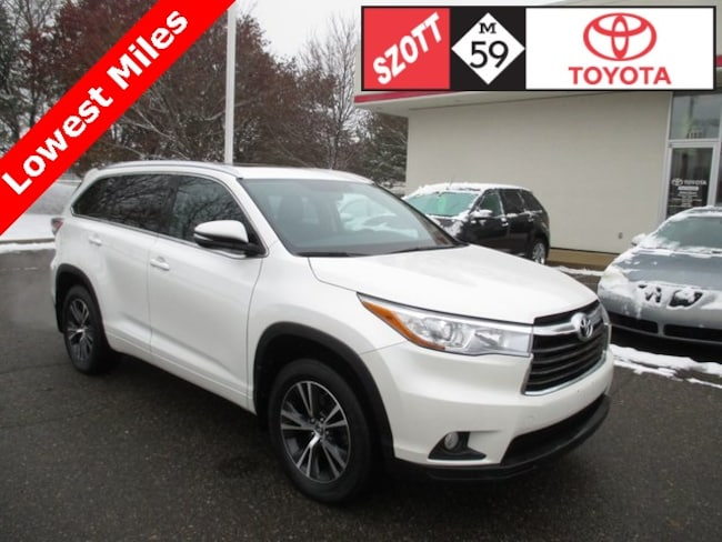 Used 2016 Toyota Highlander XLE V6 SUV in Waterford