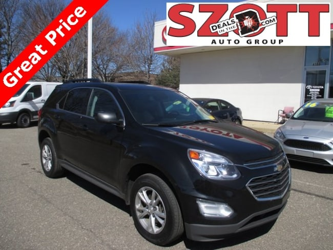 Used 2016 Chevrolet Equinox LT SUV in Waterford